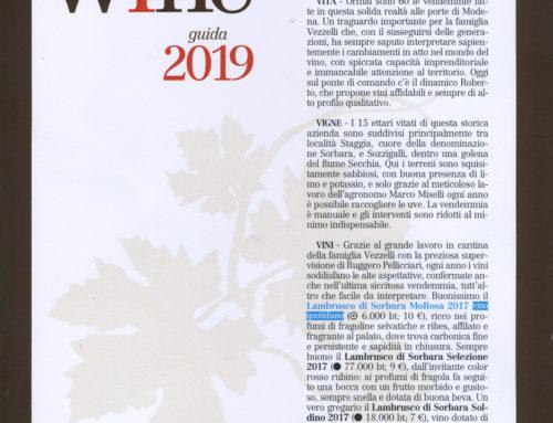 Francesco Vezzelli nella guida Slow Food 2019